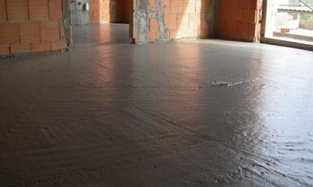DOUBLE LAYER SCREED IN CELLULAR CONCRETE