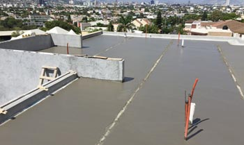 ROOFS AND TERRACE STRUCTURES IN CELLULAR CONCRETE